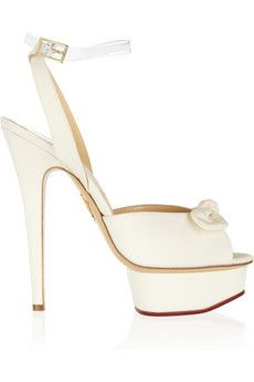 0d72c9bd4905 Charlotte Olympia - Serena silk platform sandals