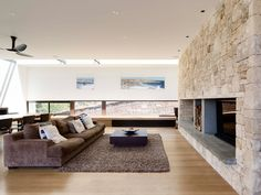A Family Home Near The Beach By Wolveridge Architects (Living Room)
