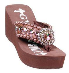 dc90624b72f03a Gypsy Soule Sandal - Foolsgold Bling Flip Flops