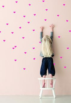 Ferm Living Shop — Mini Hearts Wall Sticker. Hannah would love these.