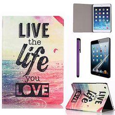 iPad mini/iPad mini 2/iPad mini 3 compatible Special Design PU Leather Folio Cases – USD $ 12.99