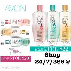 You can't miss these great prices on your favorite SSS Bath Oil, in two sizes. www.youravon.com/lindabacho #avonrep