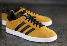 the best attitude d2ebb 204f3 Adidas Gazelle, Men Casual, Man Style, Kicks, Pairs, Yellow Shoes,
