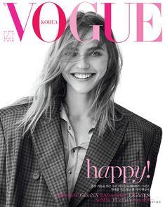 Sasha Pivovarova, Vogue Magazine [South Korea] (February 2017)