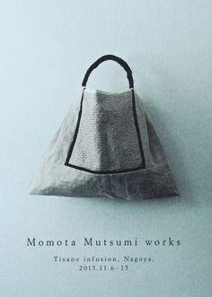 Flora - Mutsumi Kenji bag Exhibition