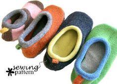 Upcycled Slipper Pattern | Craftsy