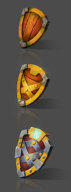 #shield #gamedesign #digitalpainting Props on Behance