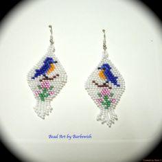 Blue Bird Style amérindien tissés à la main longue par Barbswish