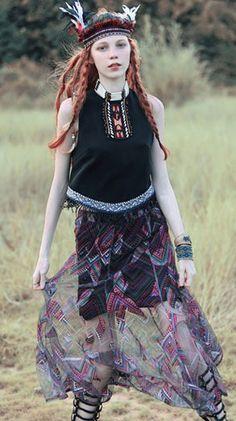 Fashiontroy Bohemian sleeveless crew neck white black fringe chiffon top