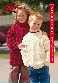 Lovely patterned children's sweater.