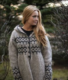 Icelandic design sweater by LOPIA on Etsy, $190.00