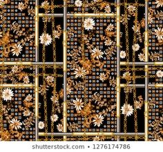Find Seamless Chain Belt Fowers Geometric Patchwork stock images in HD and millions of other royalty-free stock photos, illustrations and vectors in the Shutterstock collection. Thousands of new, high-quality pictures added every day. Vintage Pictures, Vintage Images, Paisley, Baroque Pattern, Patchwork Fabric, Floral Border, Monogram Logo, Vintage Photographs, Watercolor Flowers