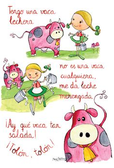 *Letras de Canciones infantiles. - EduInf35 Spanish Teaching Resources, Spanish Activities, Spanish Language Learning, Spanish Songs, Spanish Lessons, How To Speak Spanish, Learn Spanish, Baby Songs, Kids Songs