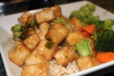 General Tso's Tofu - The Veggie Mama