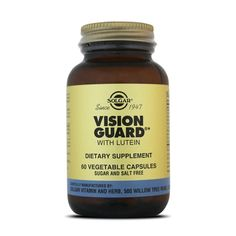 VISION GUARD WITH LUTEIN 60 VCaps - Solgar - Antioxidantes