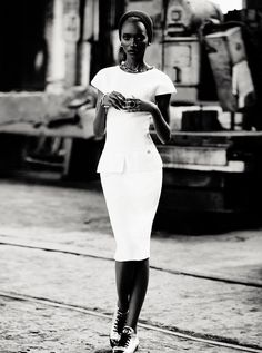 Lower East Side | Herieth Paul | Max Abadian  #photography | Dress to Kill Winter 2011