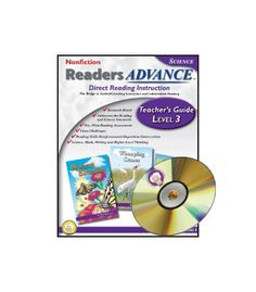 Readers Advance™ Teacher's Guide Level 3 with CD-ROM Resource Book - Carson Dellosa Publishing Education Supplies
