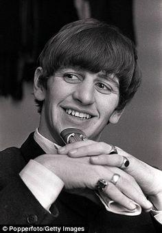 Ringo Starr pictured in 1963
