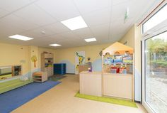 #Kindergarten #Kindertagesstätte #Gruppenraum Kindergarten, Loft, Furniture, Home Decor, Dormitory, School, Studying, Lofts, Preschool