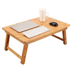 Laptop Desk For Bed, Laptop Tray, Lap Desk, Laptop Stand, Bed Tray Table, Lap Table, Table Desk, Adjustable Coffee Table, Floor Desk