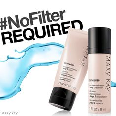 #NoFilter Required, Get close-up confident by adding TimeWise® Microdermabrasion Set to any Mary Kay® Skin Care Set. marykay.com/carolina.ugalde