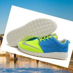 newest d1fc0 1b1fd Offrire La Migliore Nike Roshe Run Uomini FB Yeezy Blu Giallo, Quality  Sneakers are worthy