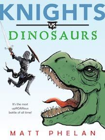 Dinosaurs (Book) : Phelan, Matt : With the realm at peace and few dragons about, the Knights of the Round Table are bored, so Merlin sends them to face the most terrible lizards of all--dinosaurs. The Wild Robot, Reluctant Readers, Summer Reading Lists, Thing 1, Chapter Books, How Train Your Dragon, Used Books, Childrens Books, Knights