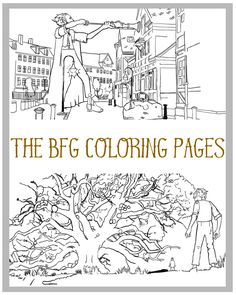 Disney has done it again with more coloring pages for Disney film fans. This time, it's five fun coloring pages from the film, The BFG. Each of The BFG Coloring Pages are completely free to download and you can print them as many times as you'd like.