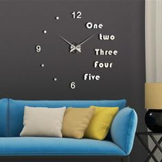 Promotion price 3D big size wall clock mirror sticker DIY brief living clocks reloj de pared watch 3d diy Acrylic mirror Stickers just only $13.59 with free shipping worldwide  #clocks Plese click on picture to see our special price for you