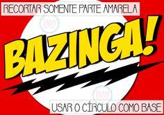 Tapete Bazinga - molde 2 | Assista o tutorial: https://www.youtube.com/watch?v=XvONveHl020