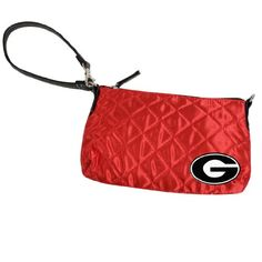 Georgia Bulldogs Quilted Wristlet