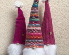 Woodland gnomi Tomte scandinavi set di 3 di Gnomes4theHolidays