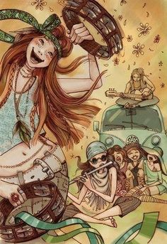 Happy hippies :) via | Hippies Hope Shop | www.hippieshope.com