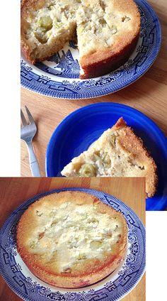 SEASONABLY SWEET: GLUTEN-FREE GOOSEBERRY CAKE RECIPE. #MadeWithThought #GlutenFree #ThoughtfulLiving