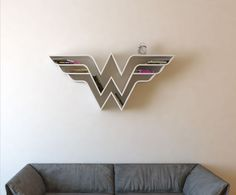 13 bookshelves that will blow your mind, including this awesome Wonder Woman case.