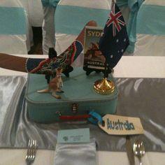 Australia centerpiece