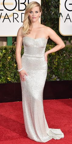 Golden Globes 2015: Red Carpet Arrivals - Reese Witherspoon from #InStyle