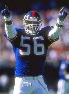 NFL Middle Linebacker - Lawrence Taylor