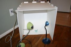 Picture of Collapsible Light Box For Those Short On Space And Cash