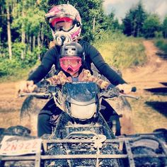 Riding with kids <3 Soo much fun..I love doing this with my boys..Good times <3