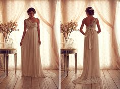 Gossamer collection wedding dress | ... wedding gowns26 Anna Campbell Gossamer 2013 Made To Measure Collection