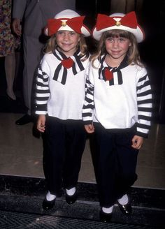 Celebrating Mary-Kate and Ashley Olsen's Retro Matchy-Matchy Style (Happy Birthday, Gals!)