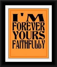 Faithfully ~ Journey #lyric