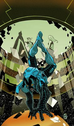 BLUE BEETLE #7 by Duncan Rouleau