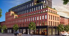 New Boerum Hill Condo: Less Glass, More Brick Mix Use Building, Multi Story Building, Brick Face, Boerum Hill, Built In Pantry, Mixed Use, Residential Architect, Luxury Marketing, Glass Facades