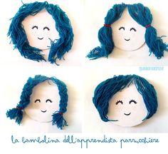Quandofuoripiove: la bambolina dell'apprendista parrucchiere