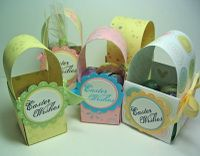 Mini Paper Easter Baskets