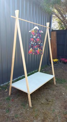 Portable A-Frame display for markets & craft shows