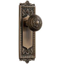 Use the 'dummy' configuration, for library door. Hamilton Interior Door Set  Beaux Arts Door Set