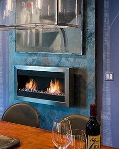 Entertainment Wall Entertainment And Fireplaces On Pinterest